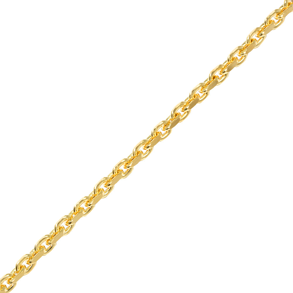 Gold Odin Link Chain (4mm)