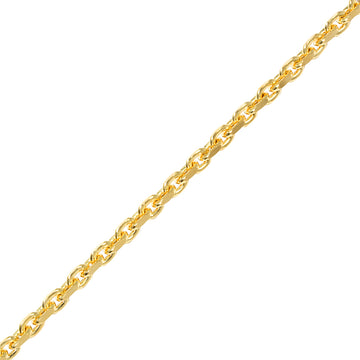 Gold Odin Link Chain (4mm) - Chains - IF & Co. Custom Jewelry