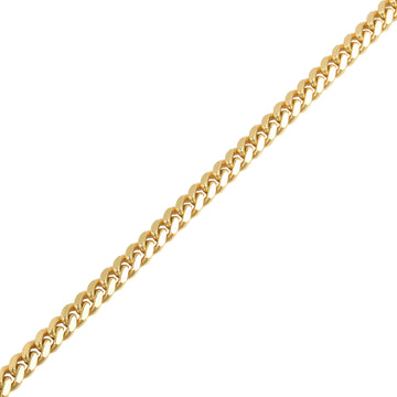 Gold Cuban Link Chain (7mm) - Chains - IF & Co. Custom Jewelry