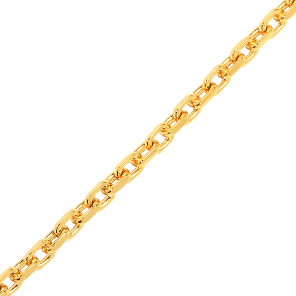 Gold Odin Link Chain (7mm) - Chains - IF & Co. Custom Jewelry