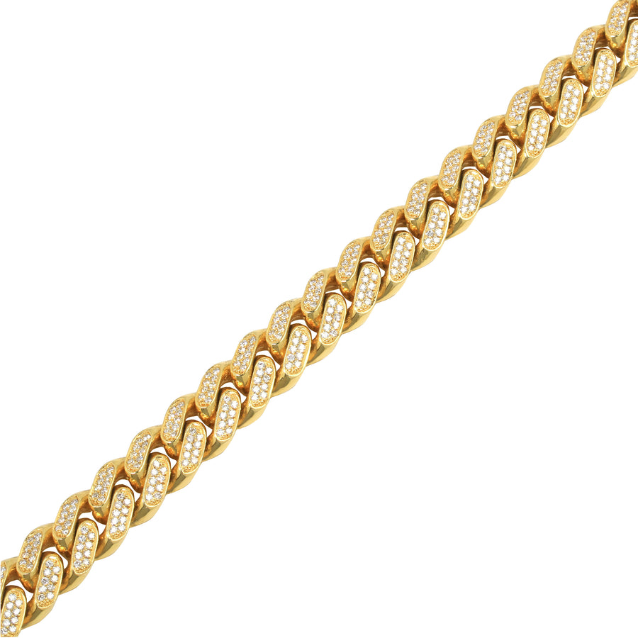 Diamond Cuban Link Chain (13mm) - Chains - IF & Co. Custom Jewelry
