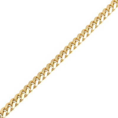 Gold Cuban Link Chain (9mm)