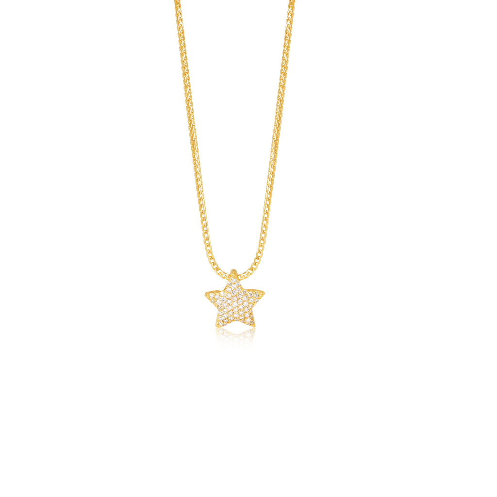 in necklace gold product hugerect luulla on rhinestone tiny star