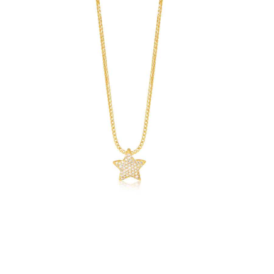 Pico Star (Fully Iced) - Pendants - IF & Co. Custom Jewelry