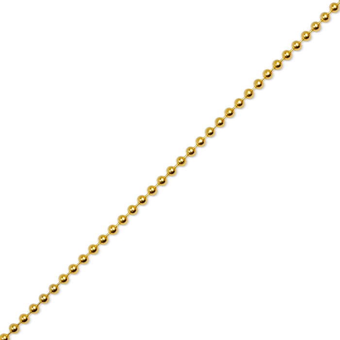 Gold Ball Chain (3mm)