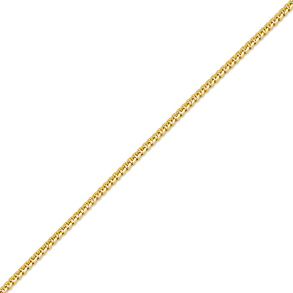 Gold Franco Chain (2.5mm) - Chains - IF & Co. Custom Jewelry
