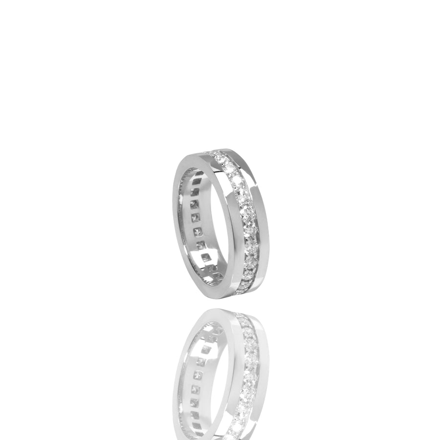 Lenox Eternity Ring (1-Row) - Rings - IF & Co. Custom Jewelry