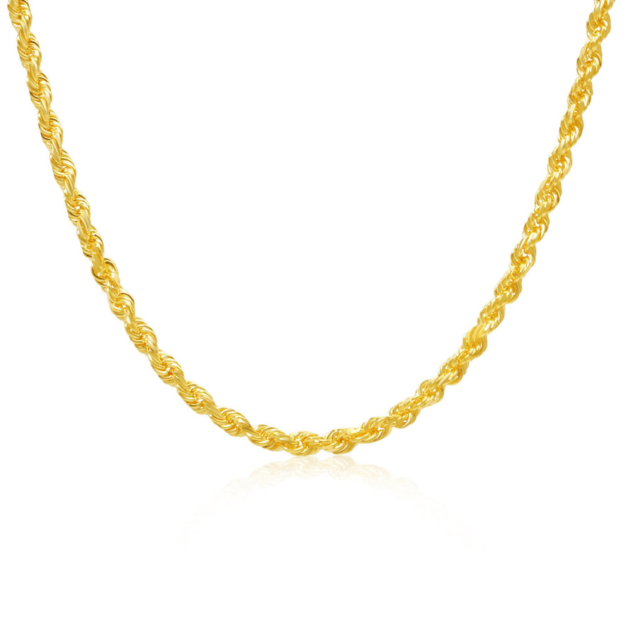 Gold Rope Chain (4.5mm) - Chains - IF & Co. Custom Jewelry