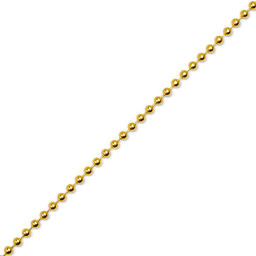 Gold Ball Chain (4.0mm) - Chains - IF & Co. Custom Jewelry