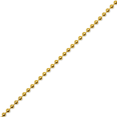 Gold Ball Chain (4mm)