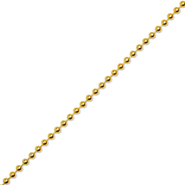 Gold Ball Chain 4mm If Amp Co
