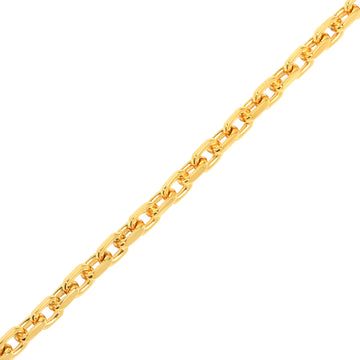 Gold Odin Link Chain (6mm) - Chains - IF & Co. Custom Jewelry