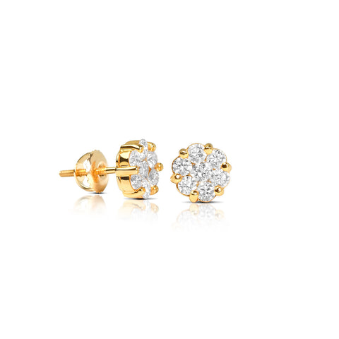 Diamond Earrings Ifandco