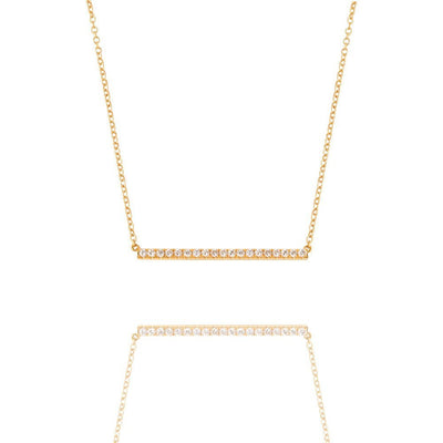 Baby Elle Necklace - Yellow Gold Pendants - IF & Co.