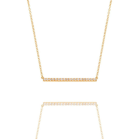Elle Yellow Gold Necklace