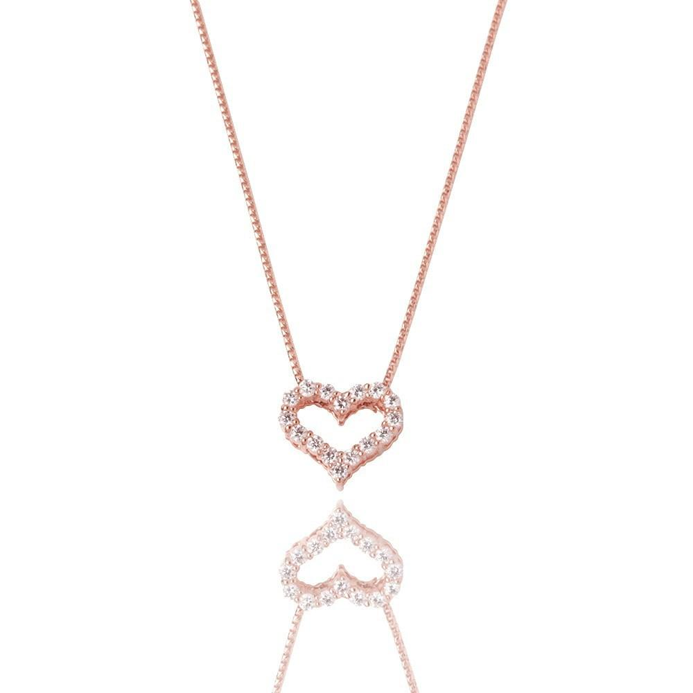Micro Heart Necklace - Pendants - IF & Co.