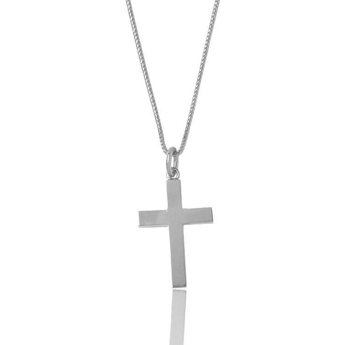 Silver Baby Tori Cross Necklace - Pendants - IF & Co.