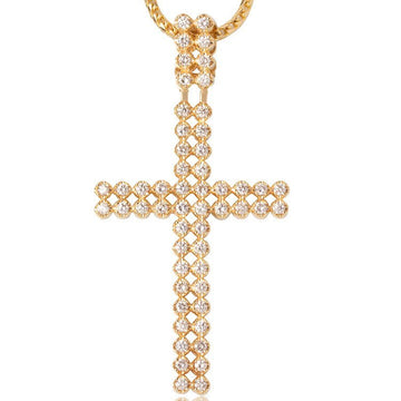 Standard Peri Cross - Pendants - IF & Co. Custom Jewelry