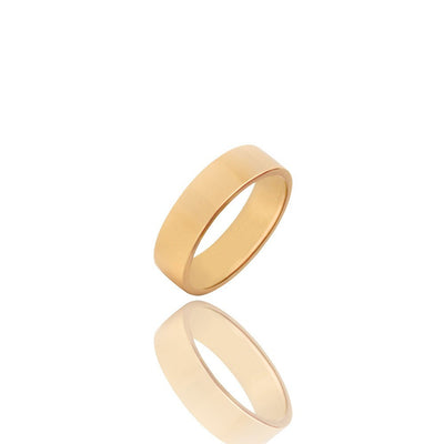 Gold Aiden Ring (7mm) - Rings - IF & Co.