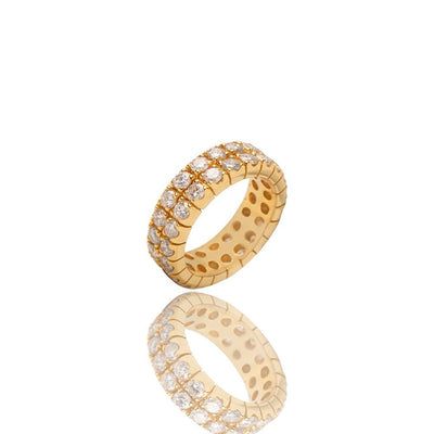 Jordan Eternity Ring (2-Row) - Rings - IF & Co.