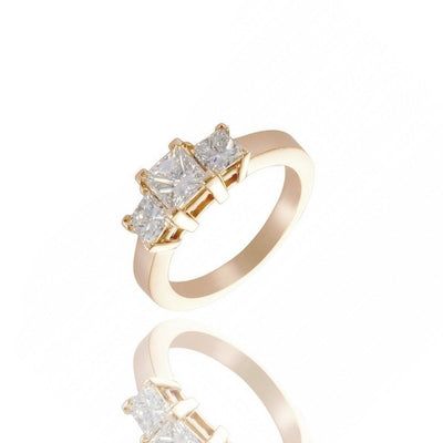 Jules 3-Stone Ring - Rings - IF & Co.