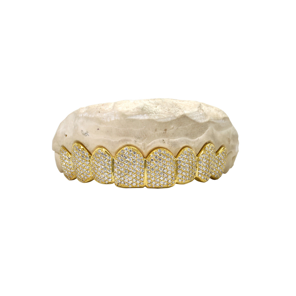 Fully Iced Diamond Grill - Grills - IF & Co. Custom Jewelry