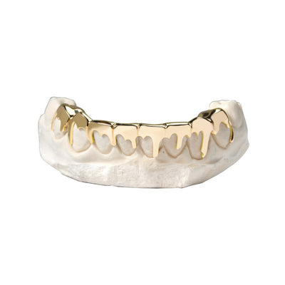 Gold Drip Grill - Grills - IF & Co. Custom Jewelry