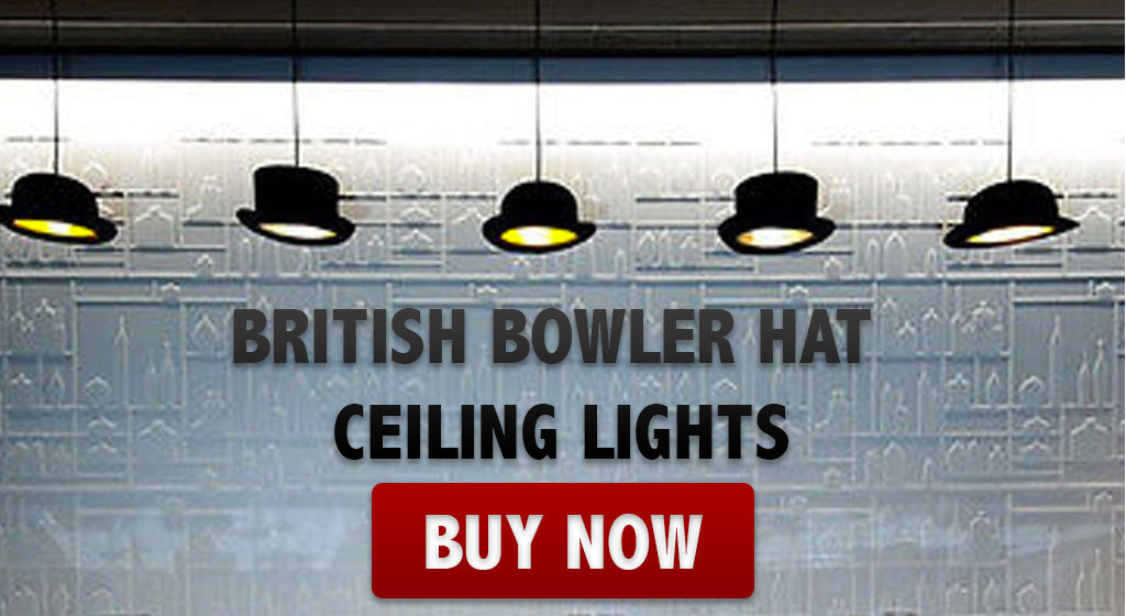 Bowler Hat Ceiling Lights