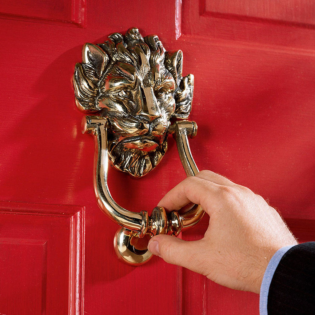 Prime Minister's No. 10 Downing Street Brass Door Knocker -  -  Little British Shop - 1