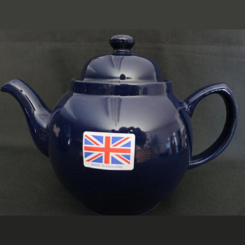 2 Cup Cobalt Betty Teapot -  -  Little British Shop