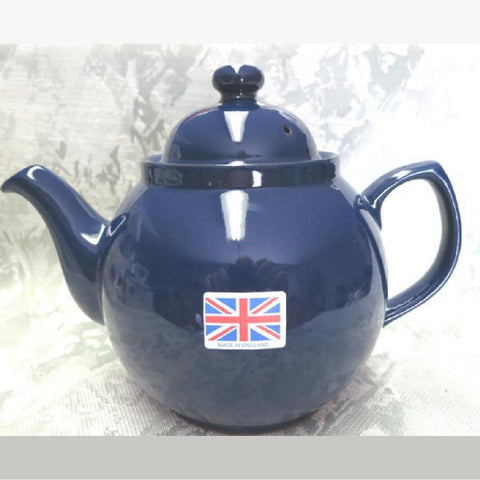 6 Cup Cobalt Betty Teapot -  -  Little British Shop