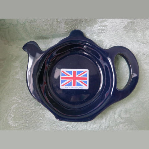 Cobalt Betty Tea Bag Tidy -  -  Little British Shop