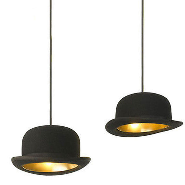 British Jeeves Bowler Hat Ceiling Light -  -  Little British Shop - 1