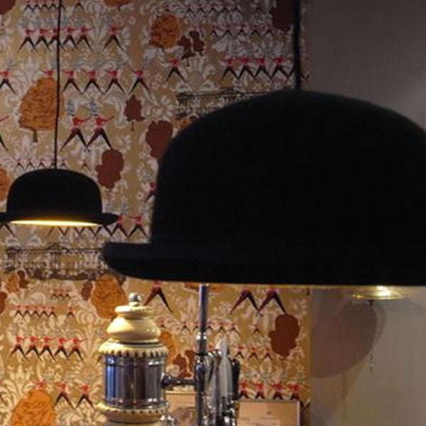 British Jeeves Bowler Hat Ceiling Light -  -  Little British Shop - 6