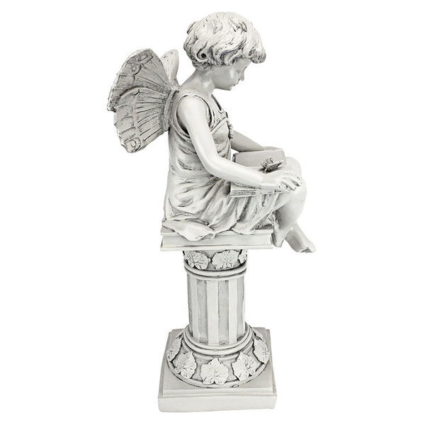 Anglophile's British Reading Fairy Statue -  -  Little British Shop - 4