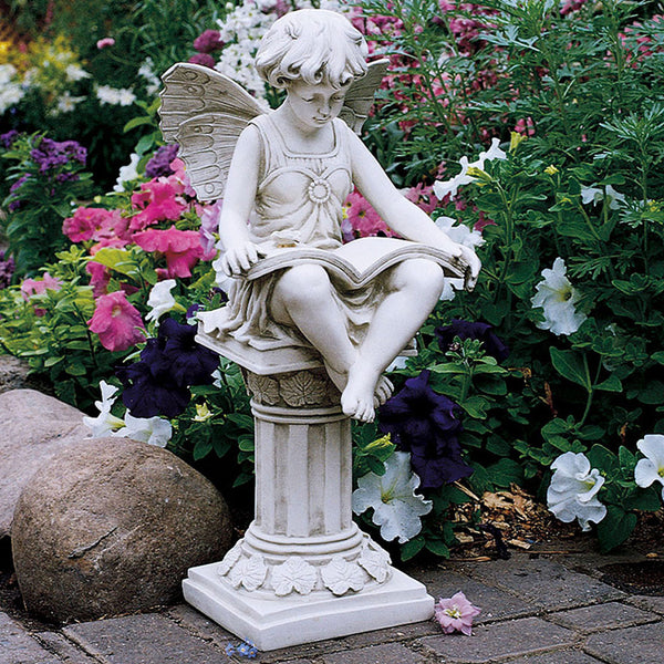 Anglophile's British Reading Fairy Statue -  -  Little British Shop - 1