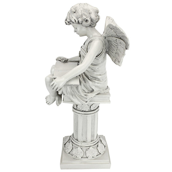 Anglophile's British Reading Fairy Statue -  -  Little British Shop - 6