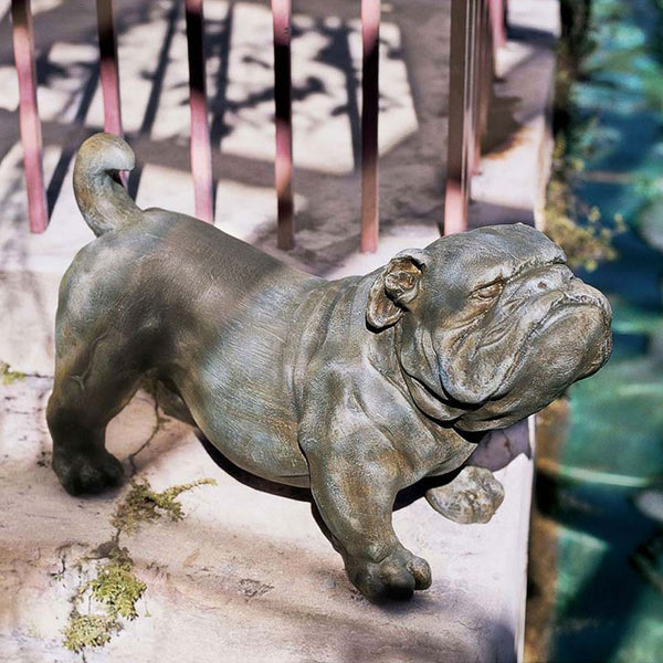 Brutus the English Bulldog Sculpture -  -  Little British Shop - 1