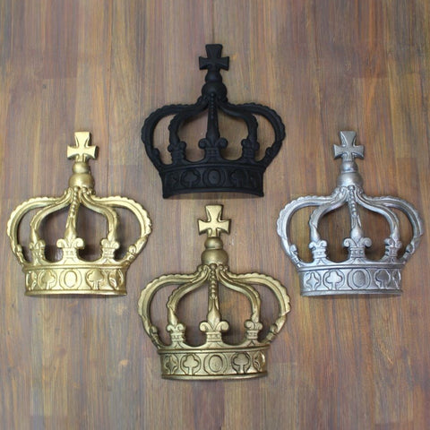 British Royal HM Crown Wall Art Ornament -  -  Little British Shop - 1