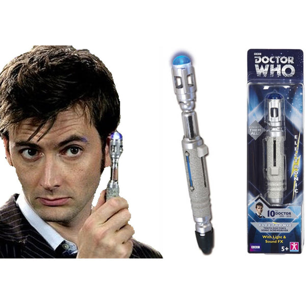 Doctor Who The Tenth Doctor's Sonic Screwdriver -  -  Little British Shop - 3