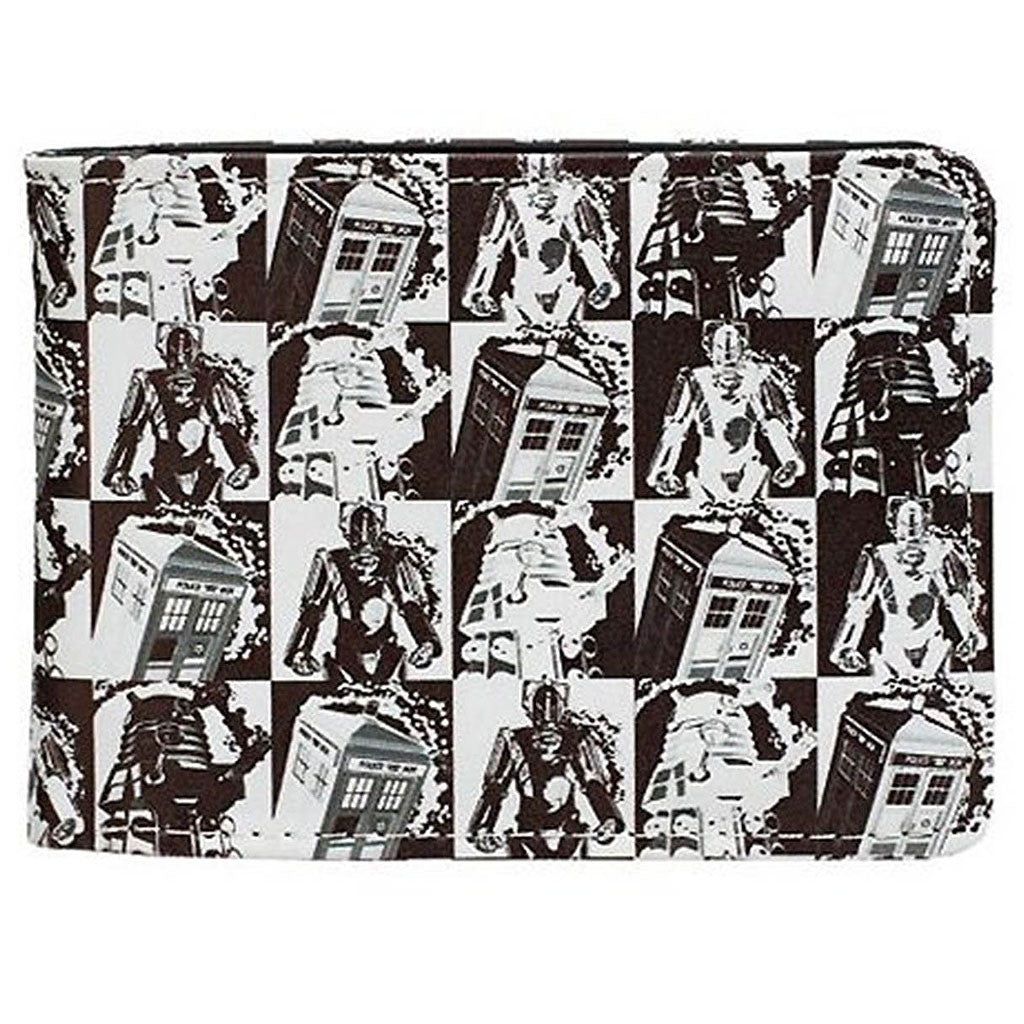 Doctor Who Comic Strip Bi-Fold Wallet -  -  Little British Shop