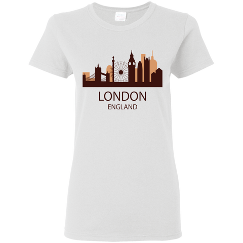 London Silhouette - Women's T-Shirt