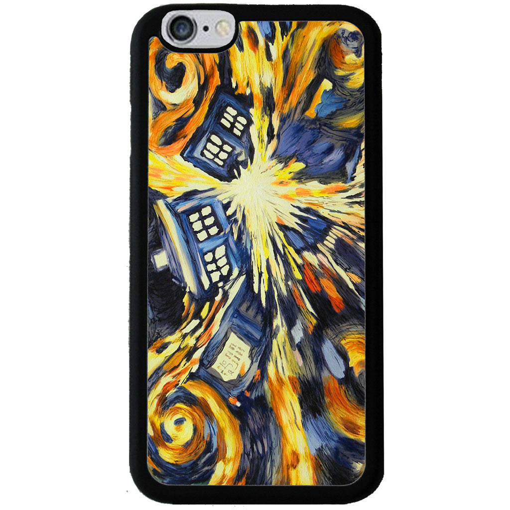 Doctor Who Van Gogh Exploding Tardis - Rubber Phone Case - Samsung Galaxy S6 -  Little British Shop