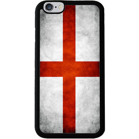 England St George Grunge Style Flag - Rubber Phone Case - iPhone 6/6s Plus -  Little British Shop - 1