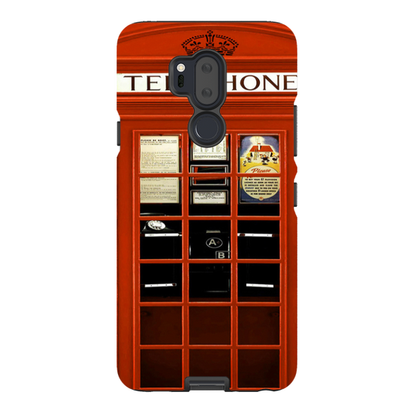 LG G7-H.M. British Red Telephone Box - Tough Dual Layer Protected Phone Case