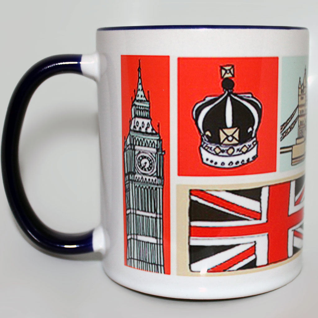 London Illustrated Mug -  -  Little British Shop - 1