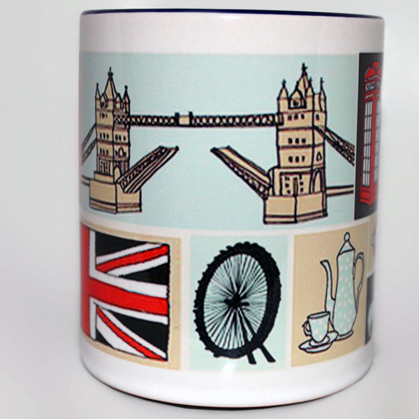 London Illustrated Mug -  -  Little British Shop - 2