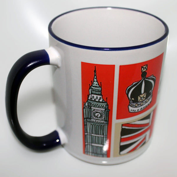 London Illustrated Mug -  -  Little British Shop - 3