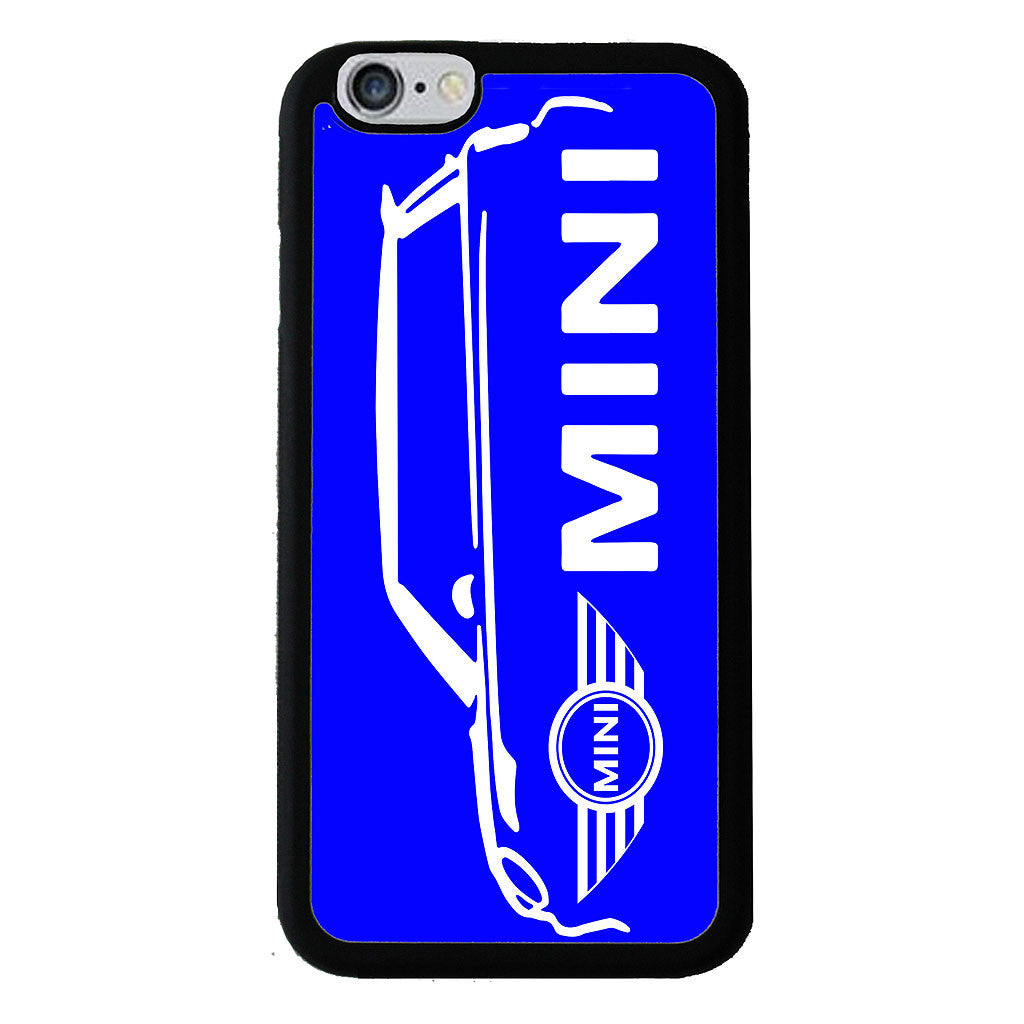 British Mini Car Mobile Rubber Phone Cases - Blue - Samsung Galaxy S7 -  Little British Shop