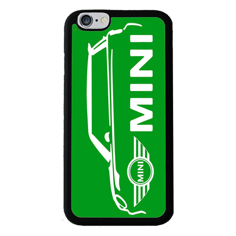 British Mini Car Mobile Rubber Phone Cases - Green - Samsung Galaxy S7 -  Little British Shop